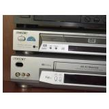 Sony DVD Player, Sony VHS Player