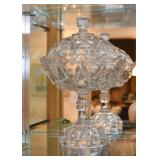 Glass Pedestal Candy Dish