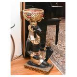 Egyptian God Khnum Floor Statue