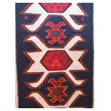 Mexican Woven Area Rug (approx. 5