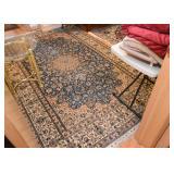 Persian Nain Carpet / Rug (approx. 9