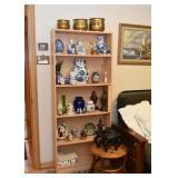 Light Wood Tone Bookcase / Bookshelf