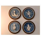 Art Glass High Relief Collector Plates