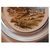 Currier & Ives Collector Plates