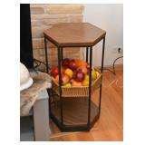 Hexagonal Display Shelf / Side Table