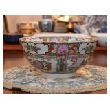 Chinese Famille Rose Serving Bowl