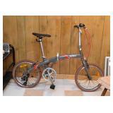 Gray Citizen Folding Bike / Bicycle