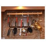 Pot Rack, Pots & Pans, Kitchen Utensils