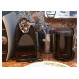 Electric Can Opener, Coffee Grinder