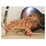 Vintage Tiger Figure (made with real fur)
