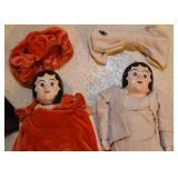 Vintage Dolls (Composition & Others)