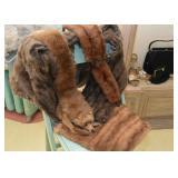 Vintage Fur - Fox Stoles, Scarves, Wraps