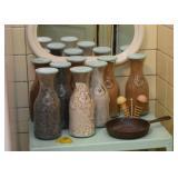 Bottles of Different Sands / Minerals / Stones