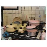 Pots & Pans (Yellow & Pink)