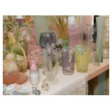Vintage Glasses, Glassware, Kitchenware, Miniatures, Etc.