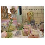 Vintage Glasses, Glassware, Kitchenware, Easter, Miniatures, Etc.