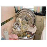 Serving Trays, Baskets, Home Decor
