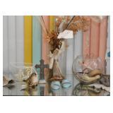 Various Oddities, Figurines, Religious Items, Home Decor
