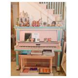 The 2nd Painted Upright Piano