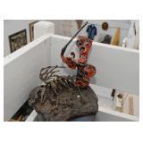 "Original Artwork - Sculpture by Donald Seiden, ""The Last Word"""