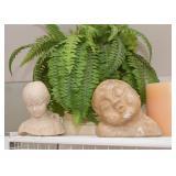 Busts & Sculpture, Artificial House Plants