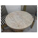 Top of Wooden Bistro Table
