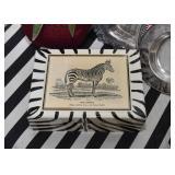 Home Decor - Trinket Box with Zebra