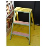 Small Painted Step Ladder