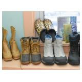 An Enormous Amount of Shoes & Boots