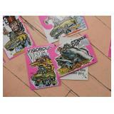Scanlens Oddest Odd Rods Stickers, 1970