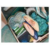 Vintage Suitcases, Shoes, Clothing, Accessories, Etc.