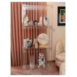 Cool Acrylic Display Shelf / Bookcase / Bookshelf / Etagere