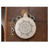 Pottery Wall Hanging / Flask
