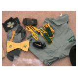 Vintage Girl Scout Shirt & Accessories