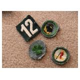 Vintage Girl Scout Badges / Patches