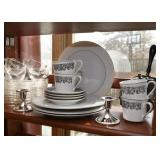 Dinner Plates, Coffee Cups, Candlesticks