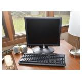 Dell Computer Monitor, Keyboard, Computer Speakers
