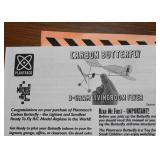 Carbon Butterfly Model Airplane