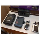 Sony Walkman, Flip Phone, Large Lighter