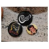 Vintage Music Buttons