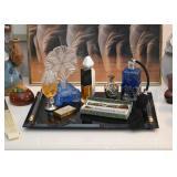 Vanity Items, Perfume Bottles, Atomizers, Pill Boxes, Etc.