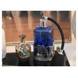 Blue Glass Atomizer