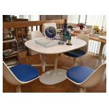 Vintage Burke Tulip Propeller Dinette Set - Table & Chairs