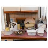 Baking Dishes, Casseroles, Small Kitchen Appliances