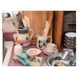 Cutting Boards, Pitchers, Ice Cream Scoops, Kitchen Utensils, Bowls, Etc.