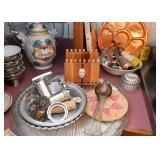 Cookie Press, Utensils, Pie Tins, Serving Trays, Food Molds