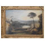 Antique Oil Painting - 1800