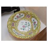 Chinese Porcelain Footed Bowl