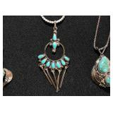 Sterling Silver & Turquoise Jewelry