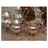 Elegant Coffee & Tea Set (more pieces shown in next photo)